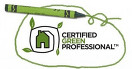 image of certified green professional logo